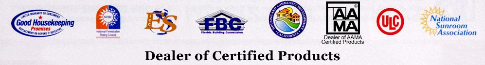 Accredited by major consumer protection agencies