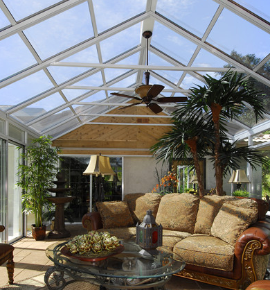 Cathedral roof Sunroom in San Antonio