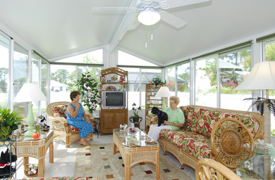 Sunroom in San Antonio