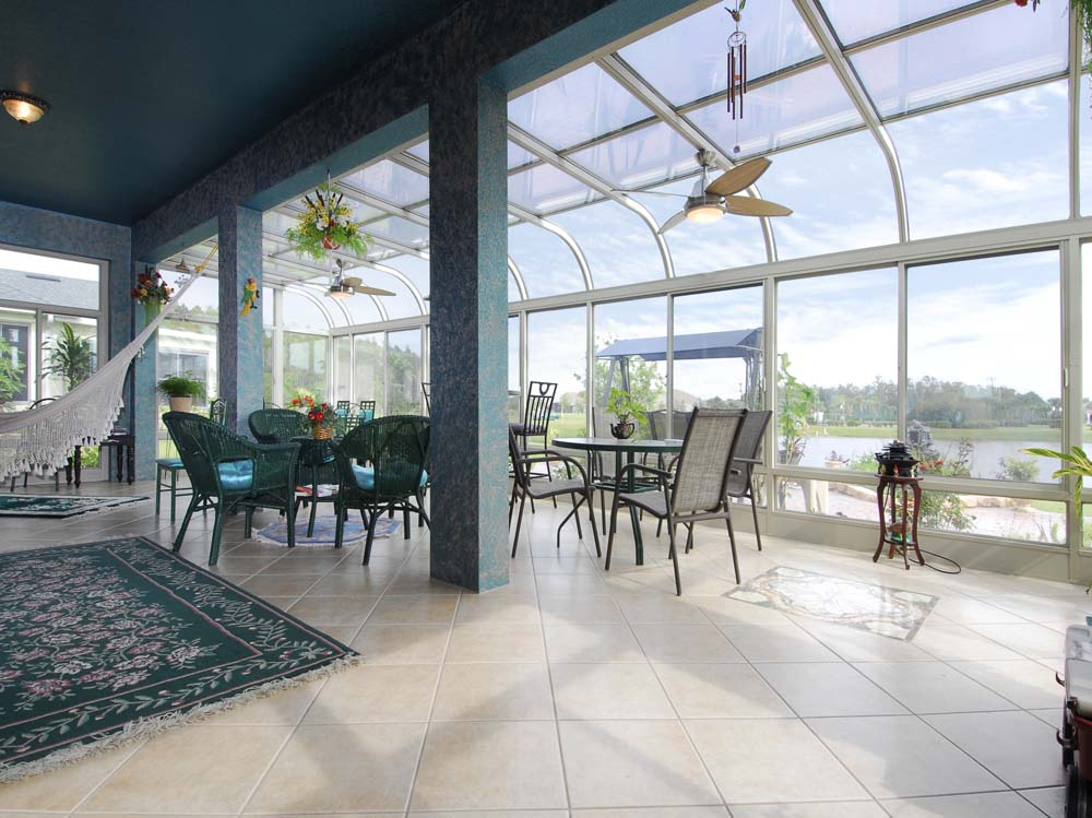 Curved glass sunrooms sunrooms4u for Sunroom roofs